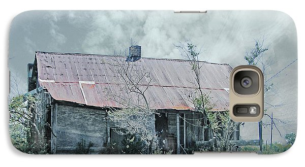 Galaxy Case featuring the digital art  Old 61 Mississippi Shack  by Lizi Beard-Ward