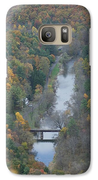 Galaxy Case featuring the photograph  Pa Valley View by Cheryl Perin