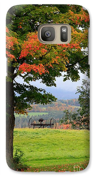Galaxy Case featuring the photograph  Scenic New England In Autumn by Karen Lee Ensley