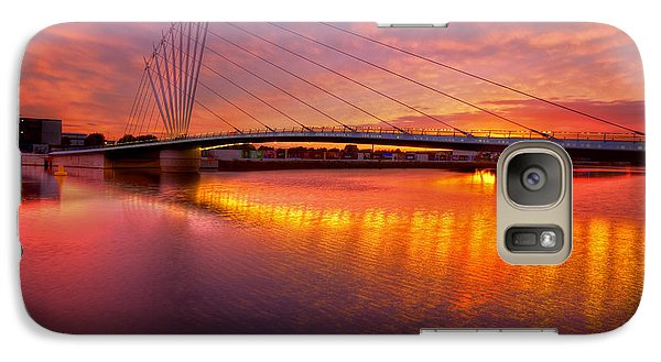 Galaxy Case featuring the photograph  Sunset Over The Quay by Beverly Cash