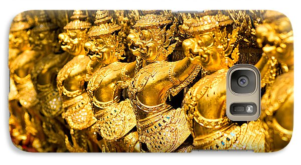 Galaxy Case featuring the photograph  Wat Phra Kaeo by Luciano Mortula