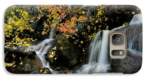 Galaxy Case featuring the photograph  Waterfall by Mitch Shindelbower