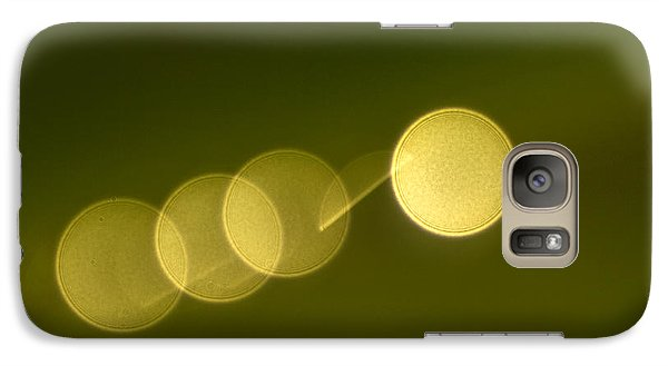 Galaxy Case featuring the photograph  Abstract Lights by Odon Czintos