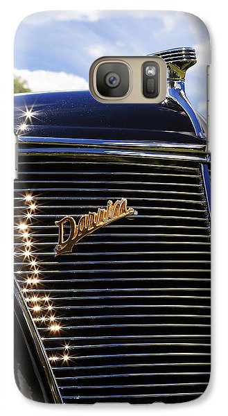 Galaxy Case featuring the photograph 1937 Ford Model 78 Cabriolet Convertible By Darrin by Gordon Dean II