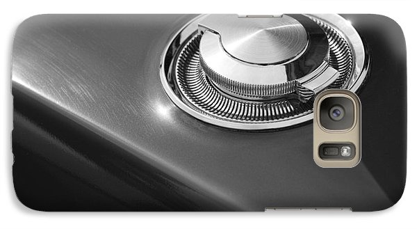 Galaxy Case featuring the photograph 1968 Dodge Charger Fuel Cap by Gordon Dean II