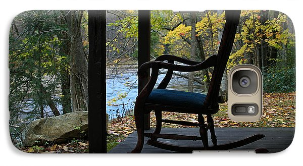 Galaxy Case featuring the photograph A Perfect Seat by Cheryl Perin