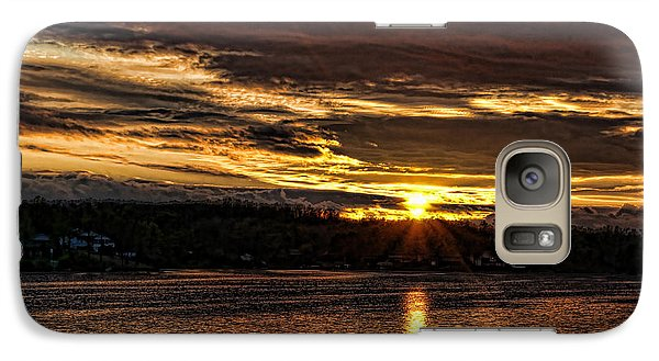 Galaxy Case featuring the photograph After The Storm by Rick Friedle