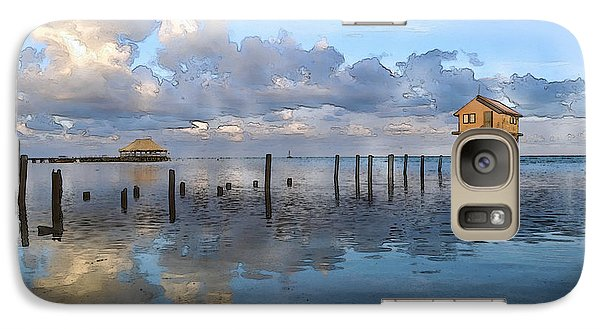 Ambergris Caye Belize Galaxy S7 Case