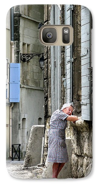 Galaxy Case featuring the photograph Another Nap.arles.france by Jennie Breeze