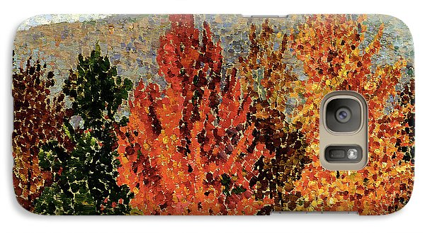 Autumn Landscape Galaxy S7 Case by Henri-Edmond Cross