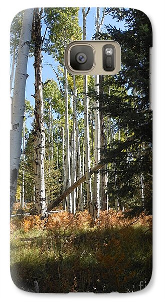 Galaxy Case featuring the photograph Autumn Shadows by Fred Wilson