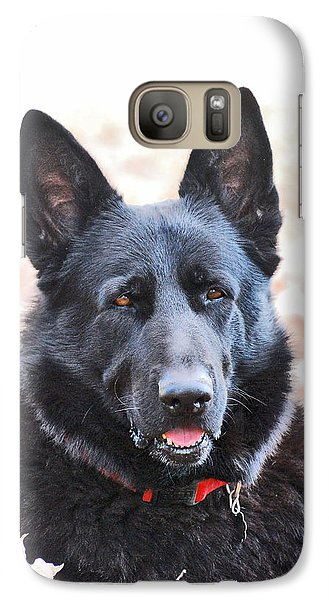 Galaxy Case featuring the photograph Bear by Margaret Palmer