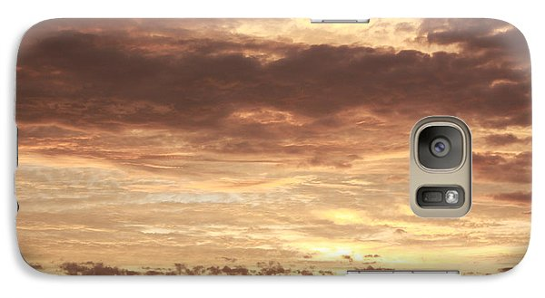 Galaxy Case featuring the photograph Beautiful Sunset by Ann Murphy