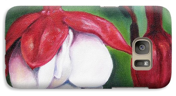 Galaxy Case featuring the painting Big Bold And Beautiful by Lori Brackett