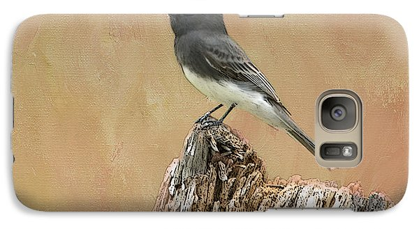 Black Phoebe Galaxy S7 Case by Betty LaRue
