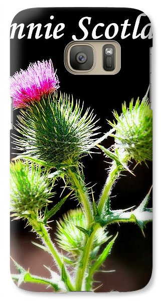 Galaxy Case featuring the photograph Bonnie Scotland by Patrick Witz