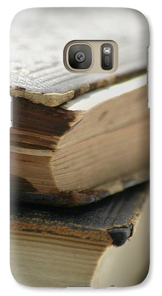 Galaxy Case featuring the photograph Books by Kelly Hazel