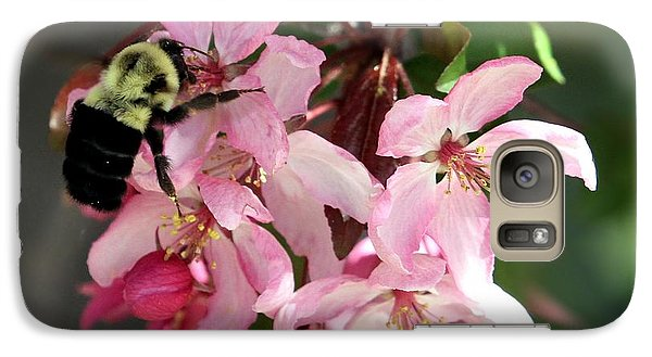 Galaxy Case featuring the photograph Buzzing Beauty by Elizabeth Winter