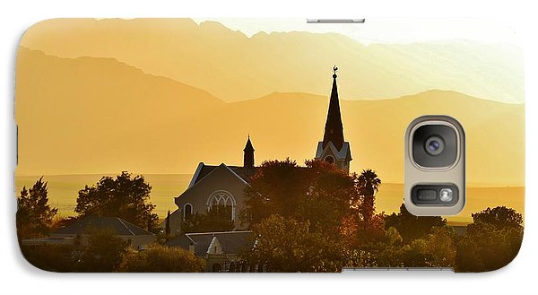 Galaxy Case featuring the photograph Church At Dusk by Werner Lehmann