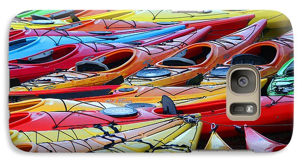 Galaxy Case featuring the photograph Color My World by Adrian LaRoque