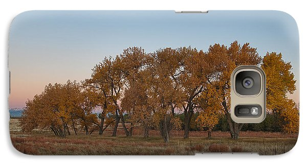 Galaxy Case featuring the photograph Cottonwood Grove by Monte Stevens