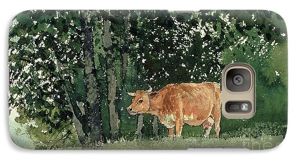 Cow In Pasture Galaxy S7 Case