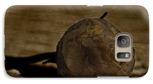 Galaxy Case featuring the photograph Dead Rosebud by Steve Purnell