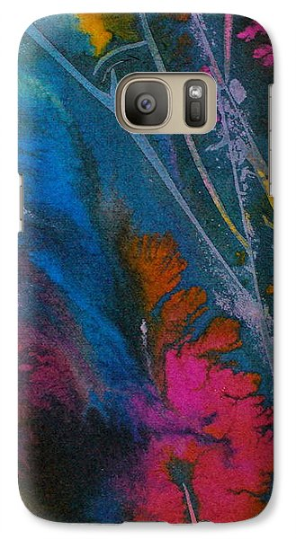 Galaxy Case featuring the painting Earth Spirit by Mary Sullivan