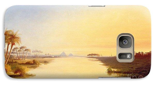 Ibis Galaxy S7 Case - Egyptian Oasis by John Williams
