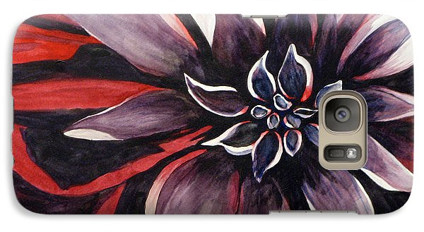 Galaxy Case featuring the painting Extravaganza by Debi Singer