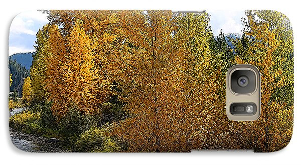 Galaxy Case featuring the photograph Fall Colors by Steve McKinzie