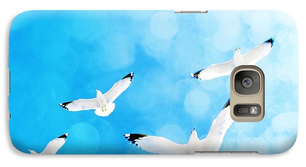 Galaxy Case featuring the photograph Fly Free by Robin Dickinson