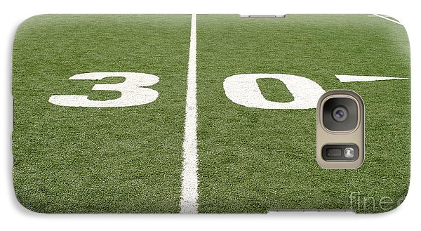 Galaxy Case featuring the photograph Football Field Thirty by Henrik Lehnerer