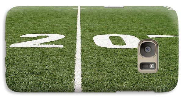 Galaxy Case featuring the photograph Football Field Twenty by Henrik Lehnerer