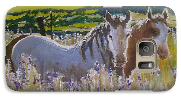 Galaxy Case featuring the painting for Pamela by Julie Todd-Cundiff