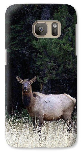 Galaxy Case featuring the photograph Forest Elk by Steve McKinzie