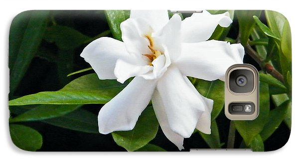Galaxy Case featuring the photograph Gardenia by Brian Wright