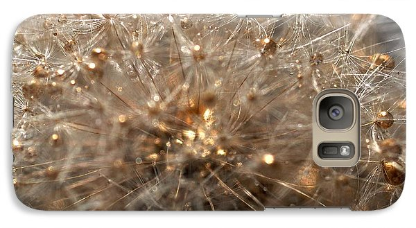 Galaxy Case featuring the photograph Golden Flower by Sylvie Leandre