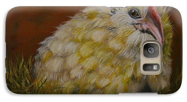 Galaxy Case featuring the painting Hector by Marlyn Boyd