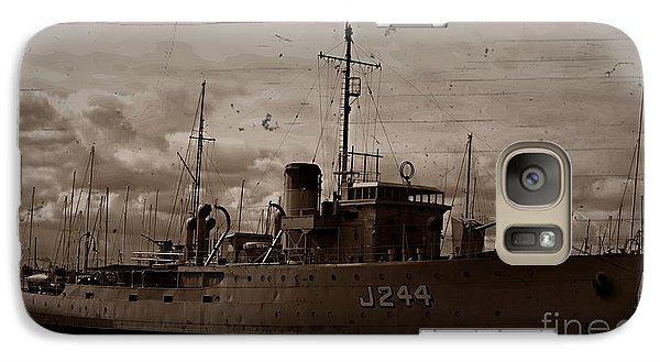 Galaxy Case featuring the photograph Hmas Castlemaine 2 by Blair Stuart