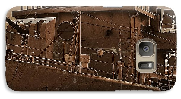 Galaxy Case featuring the photograph Hmas Castlemaine 4 by Blair Stuart