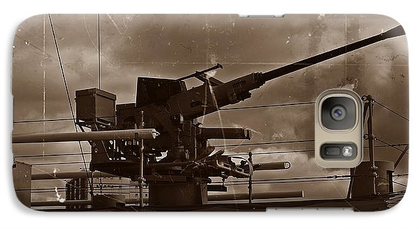 Galaxy Case featuring the photograph Hmas Castlemaine 5 by Blair Stuart