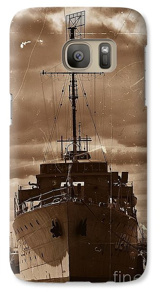 Galaxy Case featuring the photograph Hmas Castlemaine by Blair Stuart
