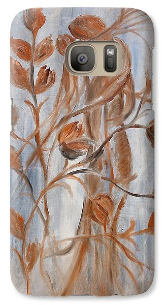 Galaxy Case featuring the painting hug by Sladjana Lazarevic