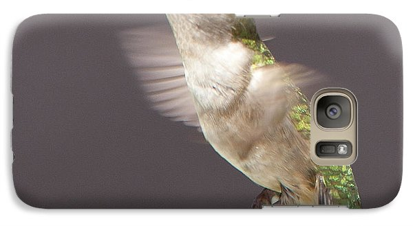 Galaxy Case featuring the photograph Hummingbird by John Crothers