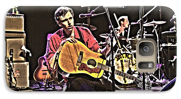 Galaxy Case featuring the photograph Joel Plaskett by Jeff Ross