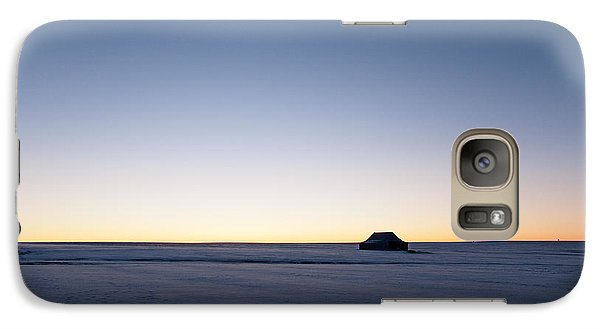 Galaxy Case featuring the photograph Just Before Sunrise by Monte Stevens