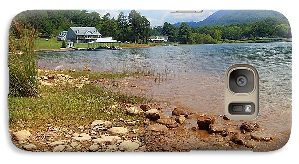 Galaxy Case featuring the photograph Lake Chatuge View by Lou Ann Bagnall