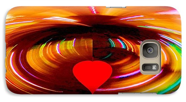 Galaxy Case featuring the photograph Love by Carolyn Repka