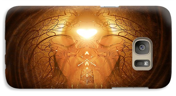 Galaxy Case featuring the painting Love Prayer by Jalai Lama